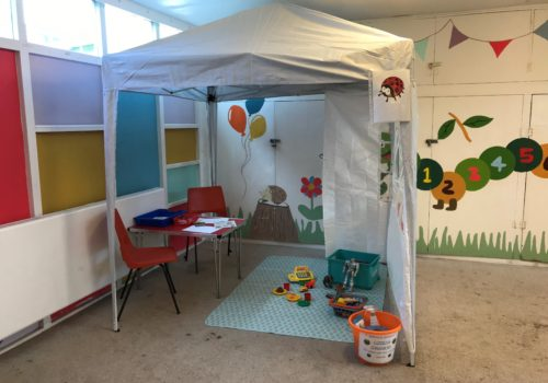 Neutral Ground Child Contact Centre share reopening videos with parents